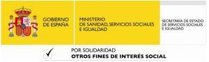 Logo Ministerio IRPF 14